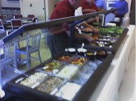 Catering Salad Bar Left